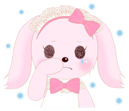 The maid of a pink rabbit.  ~English ver sticker #1283512