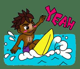 surfing life sticker #1283820