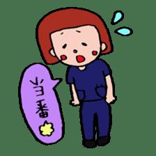 ope nurse everyday life sticker #1284878