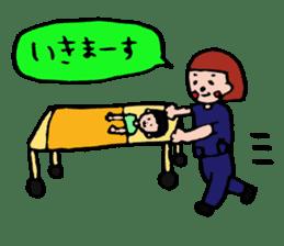 ope nurse everyday life sticker #1284890