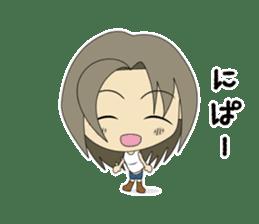 Japanese girl yua-chan sticker #1286378