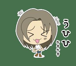 Japanese girl yua-chan sticker #1286379