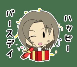 Japanese girl yua-chan sticker #1286415