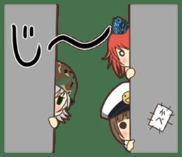 Military Girls II sticker #1287070