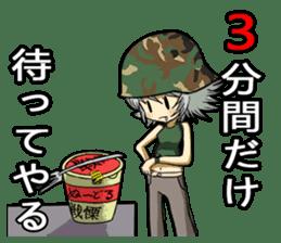 Military Girls II sticker #1287086