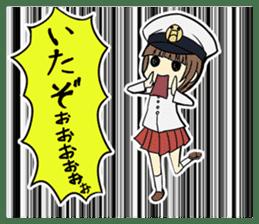 Military Girls II sticker #1287087