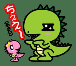 Fukui Ben Dinosaur sticker #1287187
