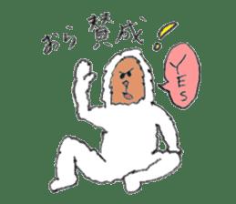The Japanese Snowman sticker #1287500