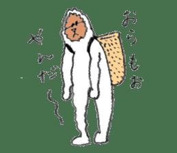The Japanese Snowman sticker #1287502