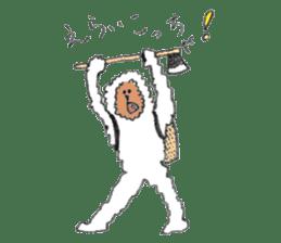 The Japanese Snowman sticker #1287504