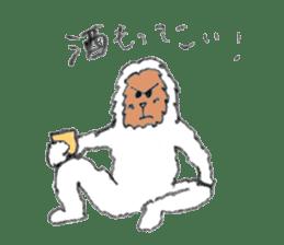 The Japanese Snowman sticker #1287506