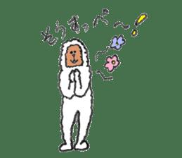 The Japanese Snowman sticker #1287514