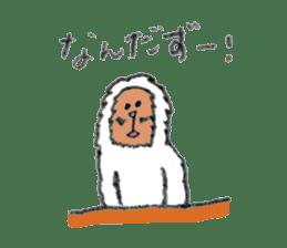 The Japanese Snowman sticker #1287519
