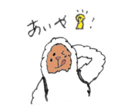 The Japanese Snowman sticker #1287521