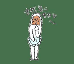 The Japanese Snowman sticker #1287523