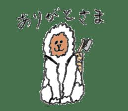 The Japanese Snowman sticker #1287526