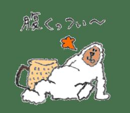 The Japanese Snowman sticker #1287530