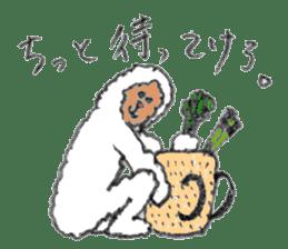 The Japanese Snowman sticker #1287533