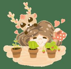 Bloom and Bibi cheerful day sticker #1288058