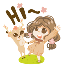 Bloom and Bibi cheerful day sticker #1288061