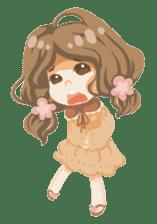 Bloom and Bibi cheerful day sticker #1288064