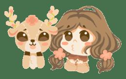 Bloom and Bibi cheerful day sticker #1288078