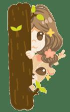 Bloom and Bibi cheerful day sticker #1288083