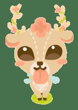 Bloom and Bibi cheerful day sticker #1288085