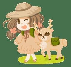 Bloom and Bibi cheerful day sticker #1288086
