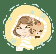 Bloom and Bibi cheerful day sticker #1288089
