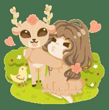 Bloom and Bibi cheerful day sticker #1288092