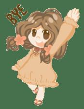 Bloom and Bibi cheerful day sticker #1288093