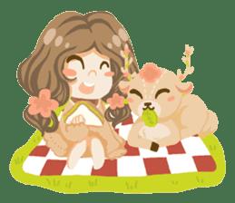 Bloom and Bibi cheerful day sticker #1288094
