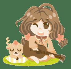 Bloom and Bibi cheerful day sticker #1288095