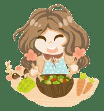 Bloom and Bibi cheerful day sticker #1288097