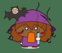 MOMO and GONTA HAPPY HALLOWEEN sticker #1288322