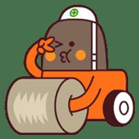 Heavy machinery friends sticker #1288541
