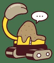 Heavy machinery friends sticker #1288561