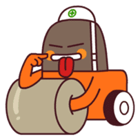 Heavy machinery friends sticker #1288571