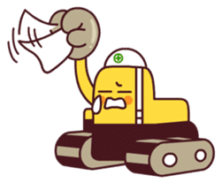 Heavy machinery friends sticker #1288575