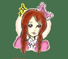 doodle Gothic&Lolita sticker #1289747