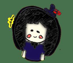 doodle Gothic&Lolita sticker #1289758