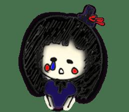 doodle Gothic&Lolita sticker #1289759