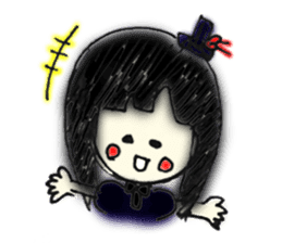 doodle Gothic&Lolita sticker #1289760