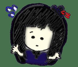 doodle Gothic&Lolita sticker #1289761