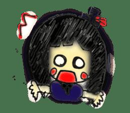 doodle Gothic&Lolita sticker #1289764