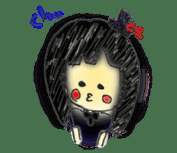 doodle Gothic&Lolita sticker #1289765