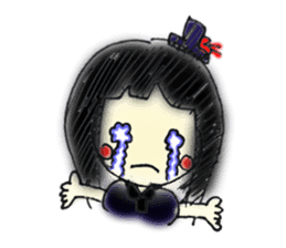 doodle Gothic&Lolita sticker #1289770