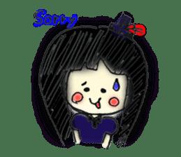 doodle Gothic&Lolita sticker #1289771
