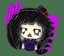doodle Gothic&Lolita sticker #1289773